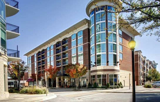 Exterior view Hampton Inn  Suites GreenvilleDowntownRiverPlace