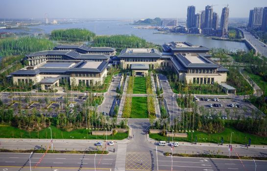 Widok zewnętrzny Yinchuan International Convention Center Hotel