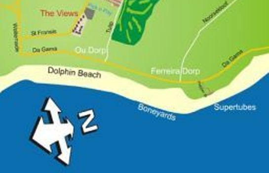 Informacja SUNSTAYS   JEFFREYS BAY SELF CATERING AP