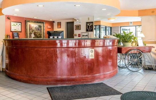 Hol hotelowy Econo Lodge Near Plymouth State University