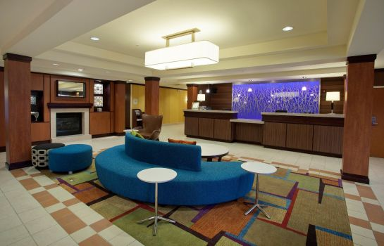 Hotelhalle Fairfield Inn & Suites Detroit Metro Airport Romulus