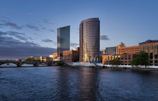 Buitenaanzicht JW Marriott Grand Rapids
