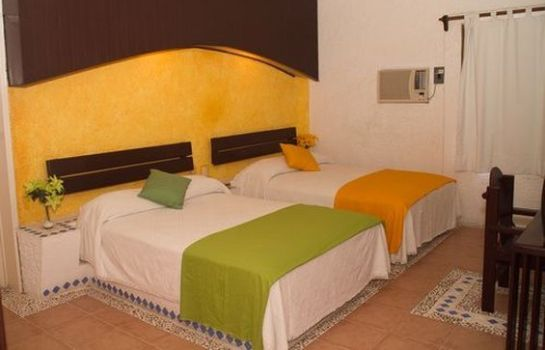 Chambre Hotel Xbalamque and Spa