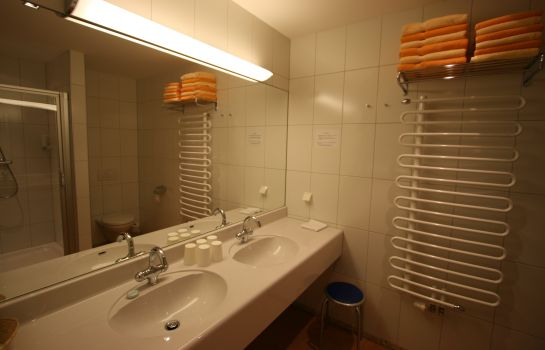 Badezimmer Tritscher Appartments