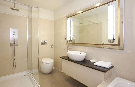 Bagno in camera Dukes at Queens Boutique Hotel