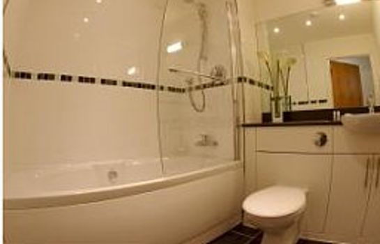 Badezimmer Spires Serviced Apartments
