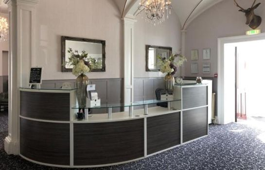 Reception Elfordleigh Golf & Leisure