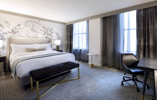 Zimmer The Gwen a Luxury Collection Hotel Michigan Avenue Chicago