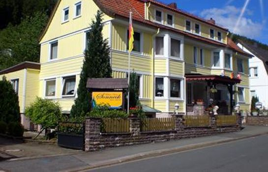 Außenansicht Wellness Hotel Pension Sonneck