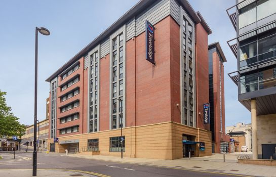 Außenansicht TRAVELODGE SHEFFIELD CENTRAL
