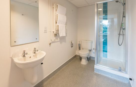 Cuarto de baño Lilleshall National Sports & Conferencing Centre