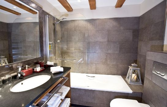 Bagno in camera Royal Rochebrune Hotel