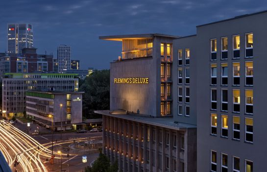 Vista esterna Fleming's Selection Hotel Frankfurt-City