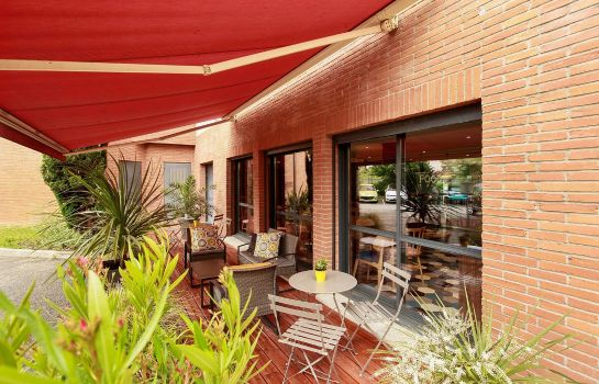 Terrasse APPART'CITY CONFORT TOULOUSE BLAGNAC