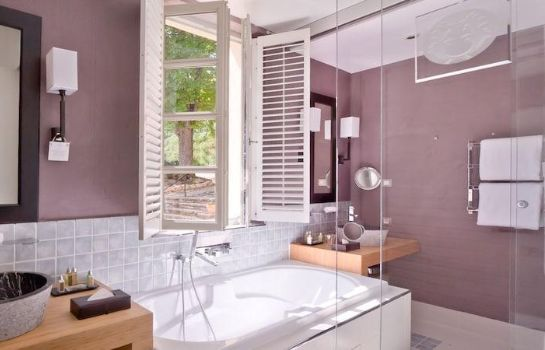 Bagno in camera Le Couvent des Minimes - Hotel & Spa