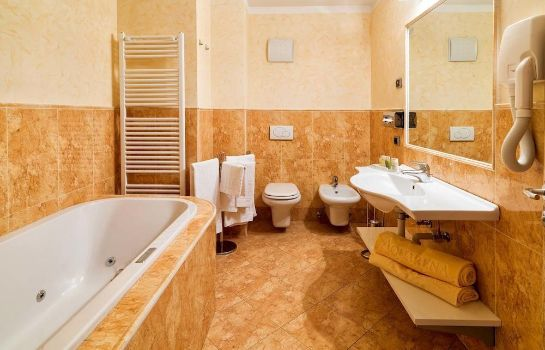 Bagno in camera Leading Relax Hotel Maria