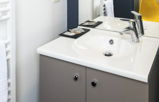 Bagno in camera Teneo Apparthotel Bordeaux - Gare Saint Jean Residence Hoteliere