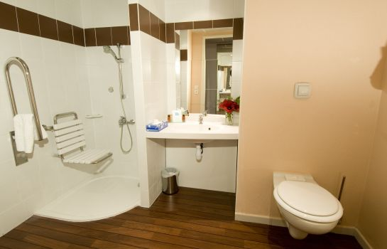 Badezimmer Canal Suites Paris La Villette (Ex Suite-Home Paris Porte de Pantin)