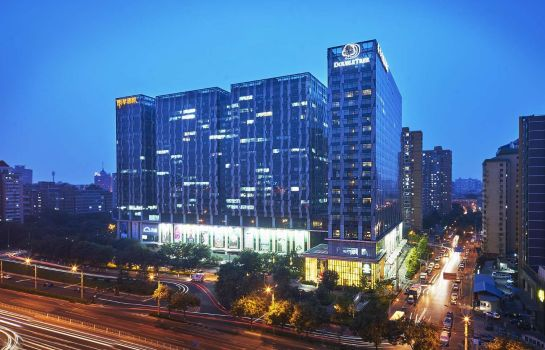 Exterior view DoubleTree by Hilton Beijing