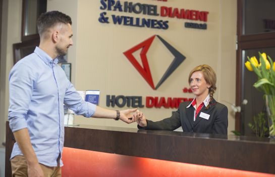 Réception Diament Hotel Ustroń