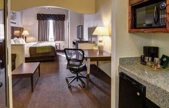 Habitación Comfort Inn and Suites Amarillo
