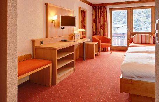 Chambre double (confort) Hotel Alpenroyal