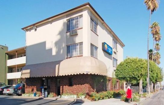 Buitenaanzicht Comfort Inn Near Hollywood Walk of Fame