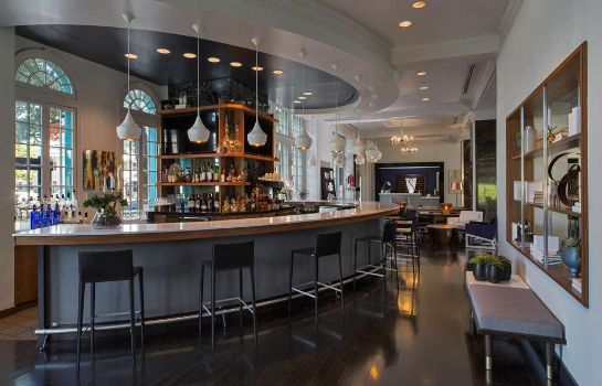 Hotelbar The Stoneleigh Le Meridien Dallas