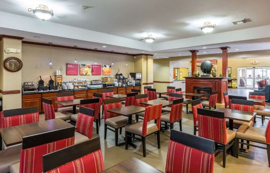 Restaurant Comfort Suites Galveston
