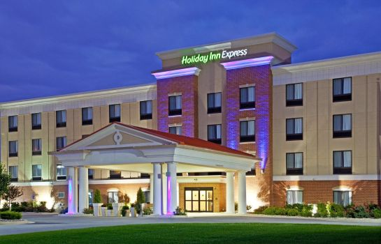 Außenansicht Holiday Inn Express INDIANAPOLIS - SOUTHEAST