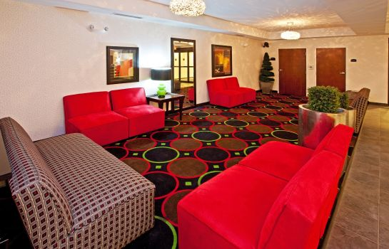 Hotelhalle Holiday Inn Express INDIANAPOLIS - SOUTHEAST