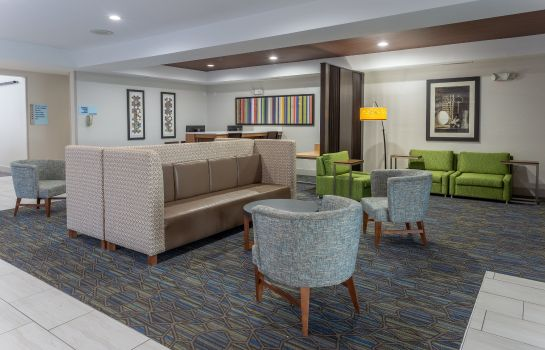 Lobby Holiday Inn Express INDIANAPOLIS - SOUTHEAST