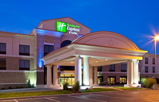 Vista esterna Holiday Inn Express & Suites SEYMOUR