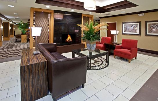 Hotelhalle Holiday Inn Express & Suites SEYMOUR