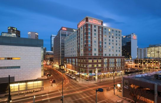 Außenansicht Hilton Garden Inn Denver Downtown CO