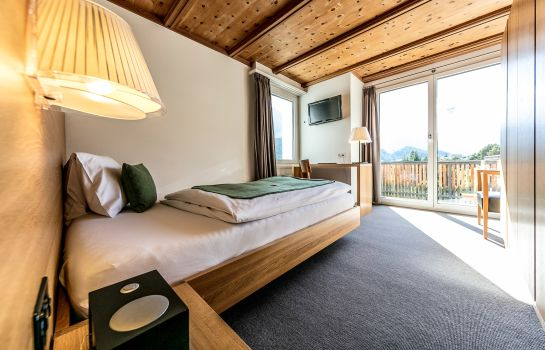 Einzelzimmer Standard Engadiner Boutique-Hotel GuardaVal