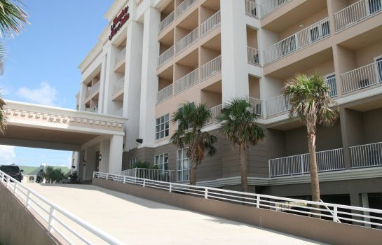 Außenansicht Hampton Inn - Suites Galveston