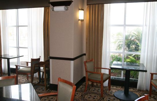 Bar hotelowy Hampton Inn & Suites Galveston