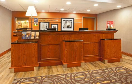 Hall de l'hôtel Hampton Inn - Suites Fort Worth-West-I-30