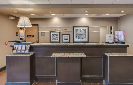 Lobby Hampton Inn - Suites Las Cruces I-25