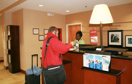 Hol hotelowy Hampton Inn - Suites Macon I-75 North