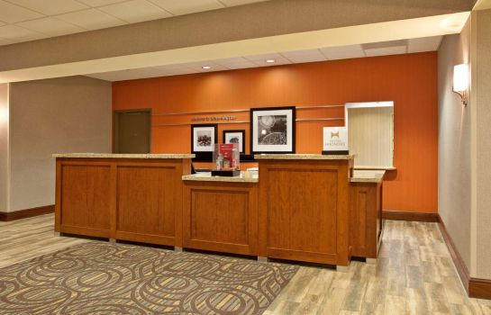 Lobby Hampton Inn Suites Minneapolis St Paul Arpt-Mall of America
