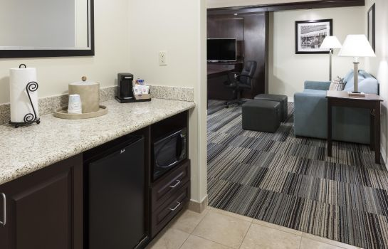 Hotel-Bar Hampton Inn - Suites Omaha-Downtown