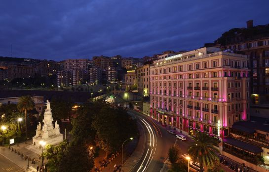 Exterior view Grand Hotel Savoia