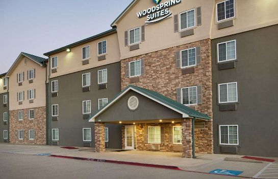 Buitenaanzicht WOODSPRING SUITES FORT WORTH T