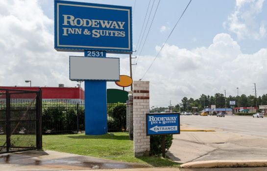 Vista exterior Rodeway Inn & Suites Houston