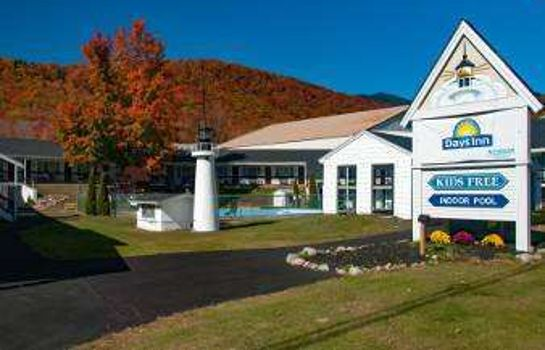 Vista exterior Days Inn Lincoln NH
