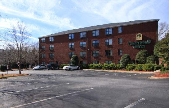 Vista esterna CRESTWOOD SUITES OF MARIETTA-TOWN CENTER