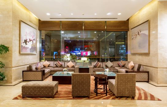 Interior view Jinling Hotel Wuxi