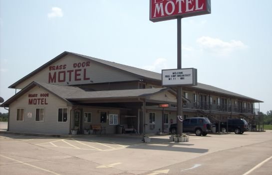 Exterior view BRASS DOOR MOTEL GASSVILLE